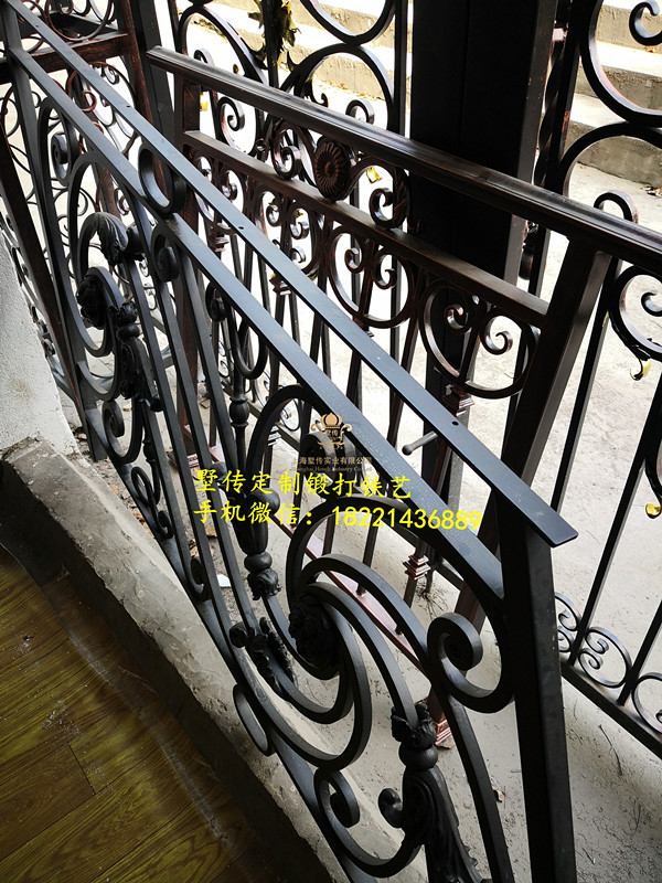 China Shanghai Wrought Iron Gates Hench-wig4