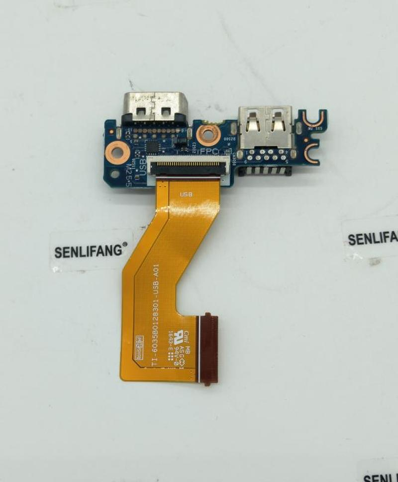 Free Shipping FOR HP EliteBook 850 G3 840 G3 Laptop USB + VGA Board W/ Cable 6050A2835701 Test Good
