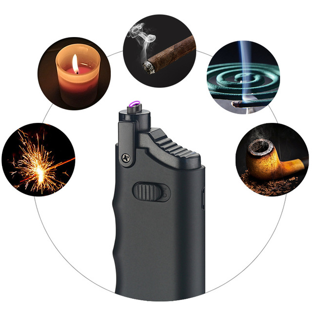 Kitchen Windproof Electric Lighter Cigarette Lighter