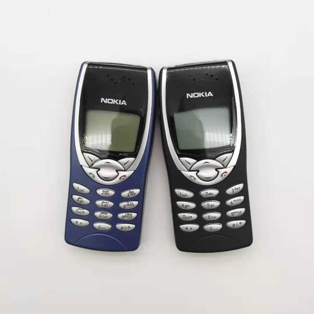 משמש נוקיה 8210 GSM 900/1800 תמיכה רב שפה סמארטפון משופץ טלפון סלולרי משלוח חינם