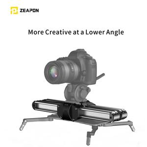 Image 2 - Zeapon Micro 2 Camera Rail Slider Aluminum Alloy Lightweight Portable Versatile Mounting Options for DSLR and Mirrorless Camera