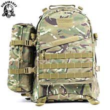 55L 1000D 3D Large Capacity Man Army Tactical Backpacks Military Assault Bags Outdoor Camping Hiking Trekking Rucksack
