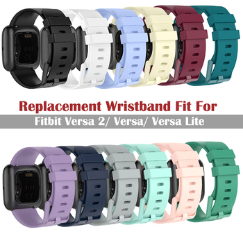 Colorful Wristband For Fitbit Versa 2 Band Silicone Bracelet For Fitbit Versa/Versa 2 Replacement Band For Fitbit Versa 2 Strap фото