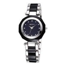 цена на 2020 New Fashion Crystal Rhinestone Ladies Elegant Bracelet Watch Luxury Diamond Waterproof Quartz Watch Relogio Feminino