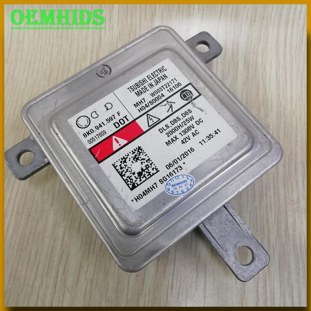 8K0941597F D8S Xenon Headlight Control Unit Ballast Used Original OEMHIDS W003T22171 DLS D6S For A1 Amarok Caddy Macan