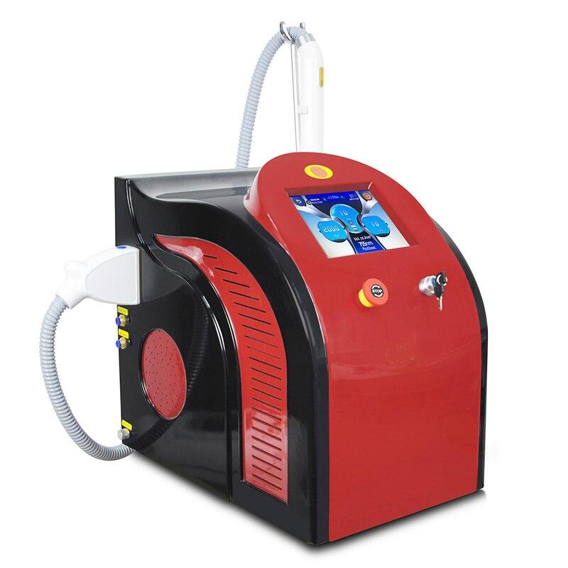 Machine portative multifonctionnelle de laser de picoseconde, machine de beauté de retrait de tatouage de soin de peau