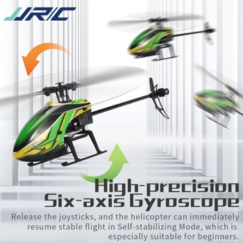 JJRC M05 RC Helicopter 2.4GHz 4 Channel 6-Axis Gyro Stabilizer Altitude Hold Helicopter for Indoor to Fly for Kids and Beginners 3