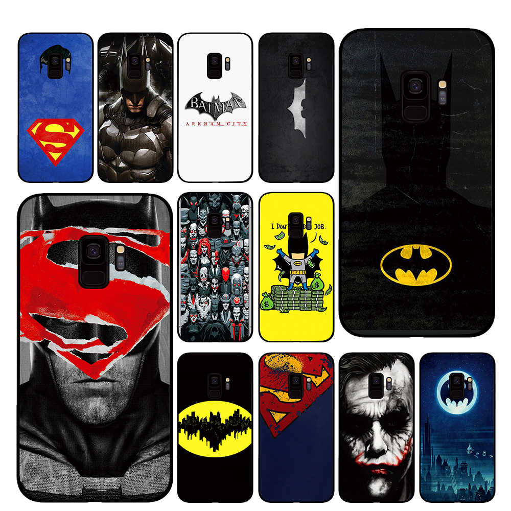 Batman Superman para Dc comic Caixa Do Telefone para Samsung Galaxy S10 S10E S8 Plus S6 S7 Borda S9 S10e Plus nota 8 9 Capa