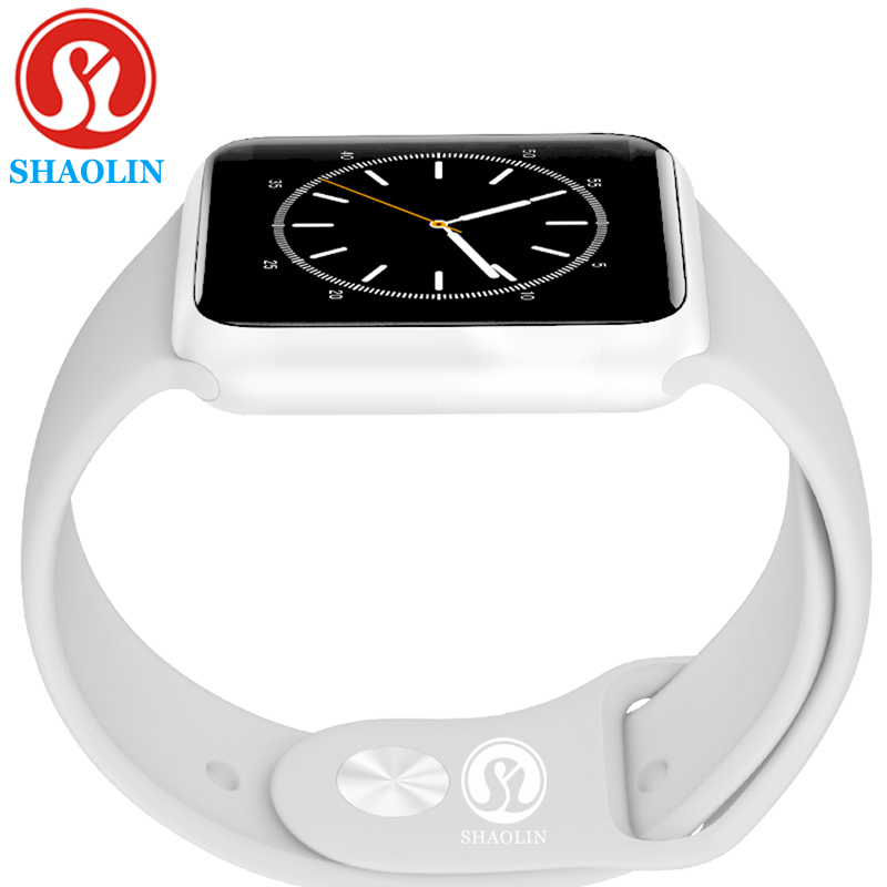 Smart Watch Series 4 Heart Rate Smartwatch upgraded with Red button Gloosy steel case 8 clocks For iOS Android-in Smart Watches from Consumer Electronics    1