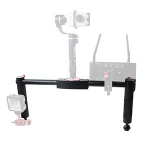 Image 3 - Dual Handheld Kamera Fotografie Gimbal Tragbare Kit für DJI Ronin s für Zhiyun Crane2 Pro Stabilisator DSLR SLR Halten grip Griffe