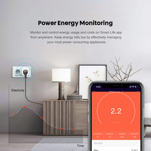 Image 5 - AVATTO 16A EU RGB wifi Smart Plug with Power Monitor, wifi wireless Smart Socket Outlet with Google Home Alexa Voice Control