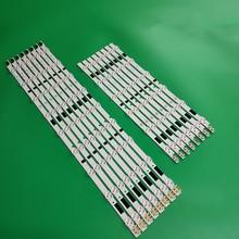 100% New 16pcs/Kit LED strips for SAM SUNG 46 TV UN46F6400 UE46F6510SB UN46F6800AF HG46NB678FF CY HF460BGLV1V D2GE 460SCA R3