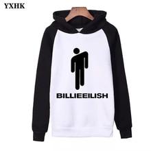 Autumn 2019 Billie Eilish Print Hoodie Women Men Sweatshirt Clothes Harajuku Casual Hot Sale Kpop Sweatshirts Streetwear