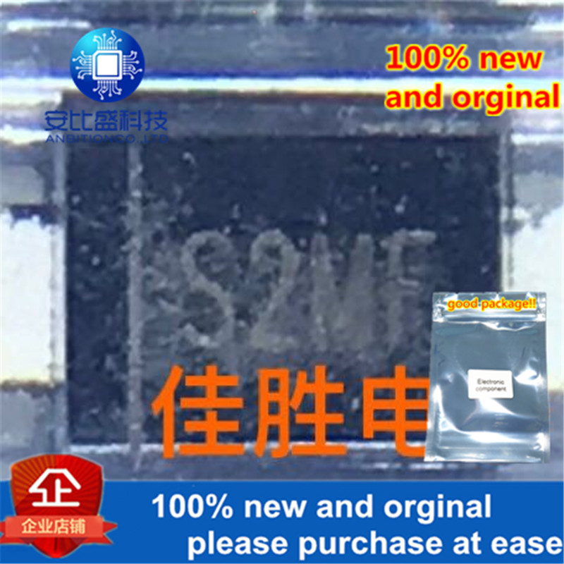 50pcs 100% New And Orginal 2A1000v SMAF Silk-screen S2MF SMAF Transient Voltage Suppressor Diode Series In Stock
