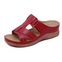 Laamei; летние женские сандалии; износостойкие Нескользящие удобные сандалии в стиле ретро с толстой подошвой; большие размеры