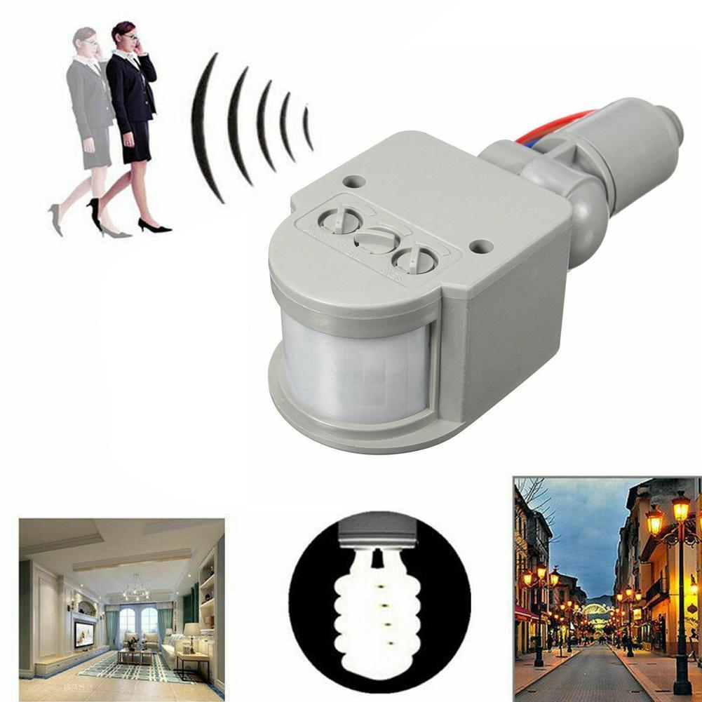 180° LED 110-220V Infrared PIR Motion Sensor Detector Light Outdoor Light Sensor Wall Wall Motion T2Q5