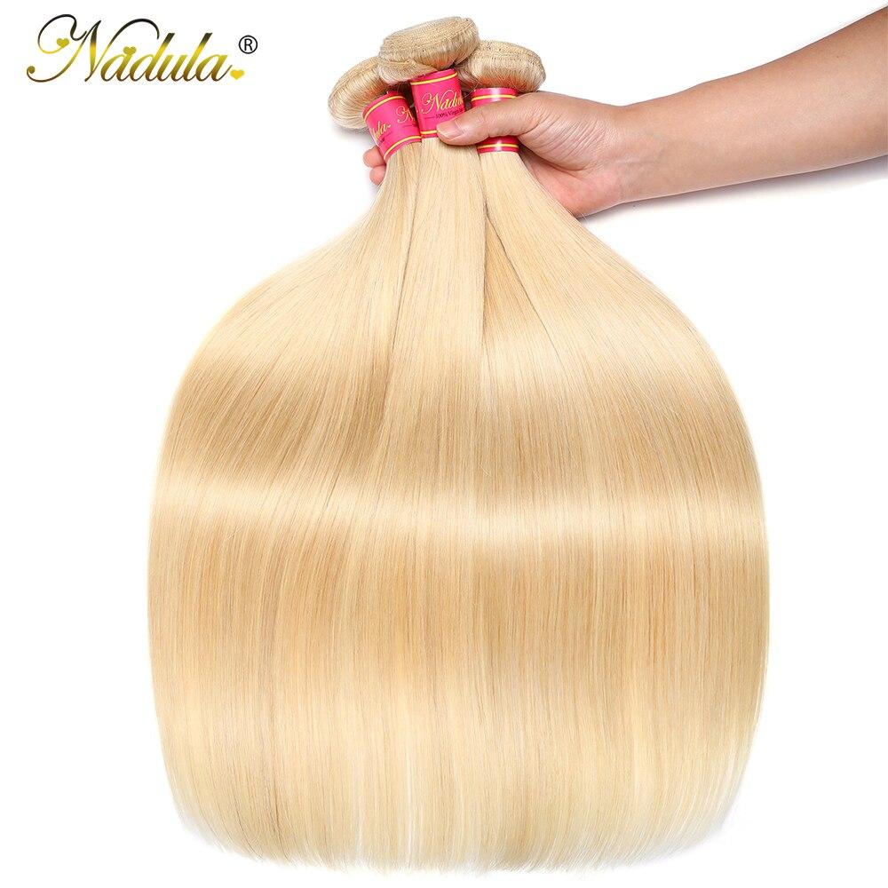 Nadula Hair #613 Blonde Hair Bundles  Straight Hair s 3 Bundles  Bundles 3