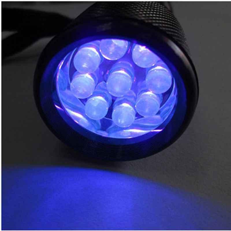 2020 جديد 9 واط UV الراتنج علاج ضوء المصباح 9 LED 39nm UV Blacklight مشاعل أداة مجوهرات