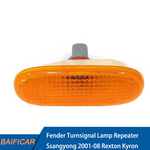 Baificar Brand New Genuine 1P Fender Turnsignal Lamp Repeater 8340008103 For Ssangyong 2001-08 Rexton Kyron OEM Part