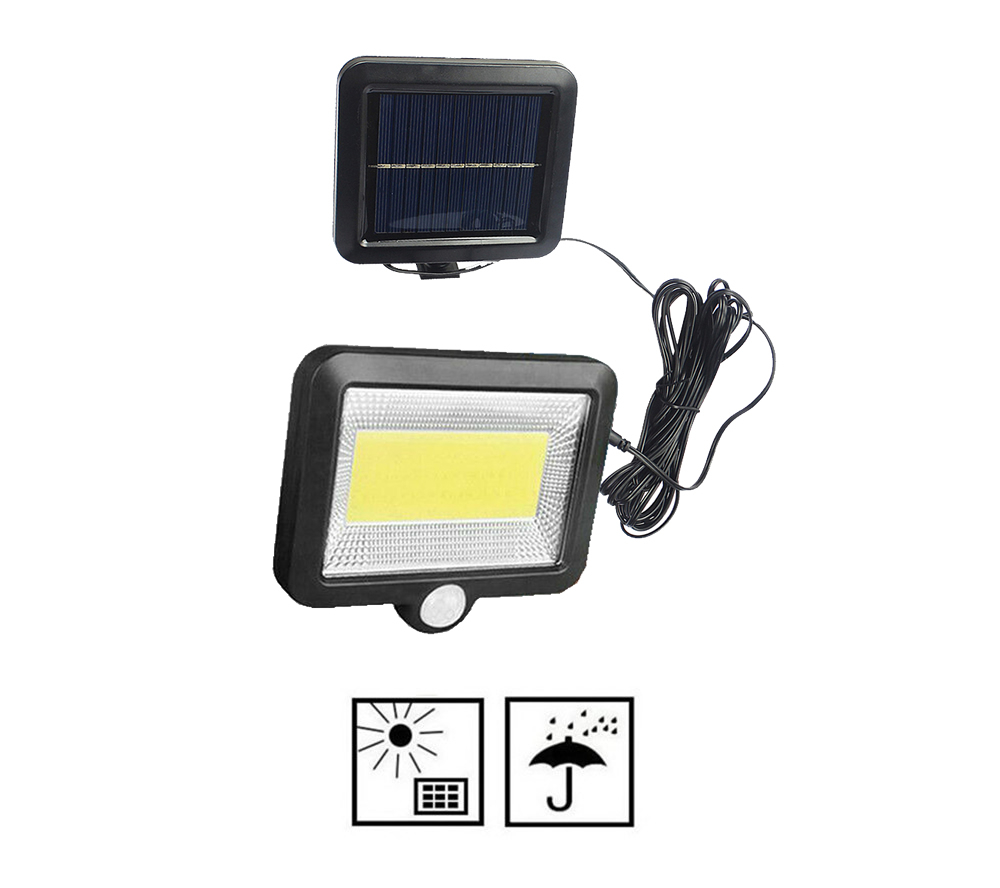 56/30 LED Solar Lights Power Solar Motion Sensor Outdoor Light,Solar Powered Wireless Waterproof Exterior Security Wall Light De