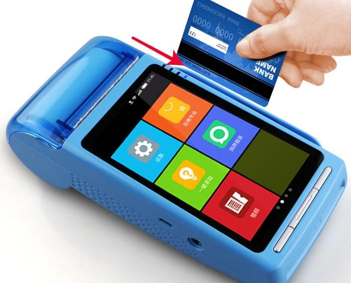 SIm Card Mobile Credit Bank Visa Card Payment POS System Terminal