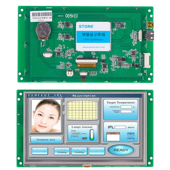 STONE 7.0 Inch HMI Display Module with RS232/RS485/TTL for Equipment Use 4 3 inch hmi tft lcd display with serial interface rs232 rs485 ttl for equipment use