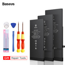 BASEUS สำหรับ iPhone 8 7 6 6 S PLUS 5 5 S 5c 6plus 7plus 8 เปลี่ยน Batterie Original Bateria สำหรับ iPhone7 iPhone6(China)
