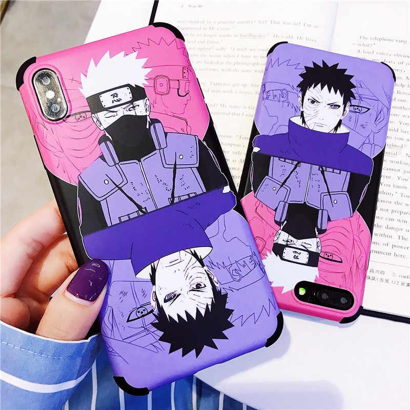 Kakashi Uchiha Obito Case For Iphone 6 6s 7 8 Plus X Xr Xs Max