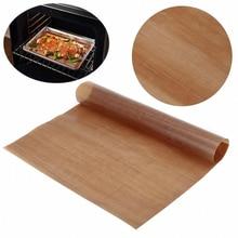 10Pcs Reusable Teflon Non Stick Baking Paper Oven Microwave Pastry Mat Heat Resistant Easy Clean Tools 30*40cm