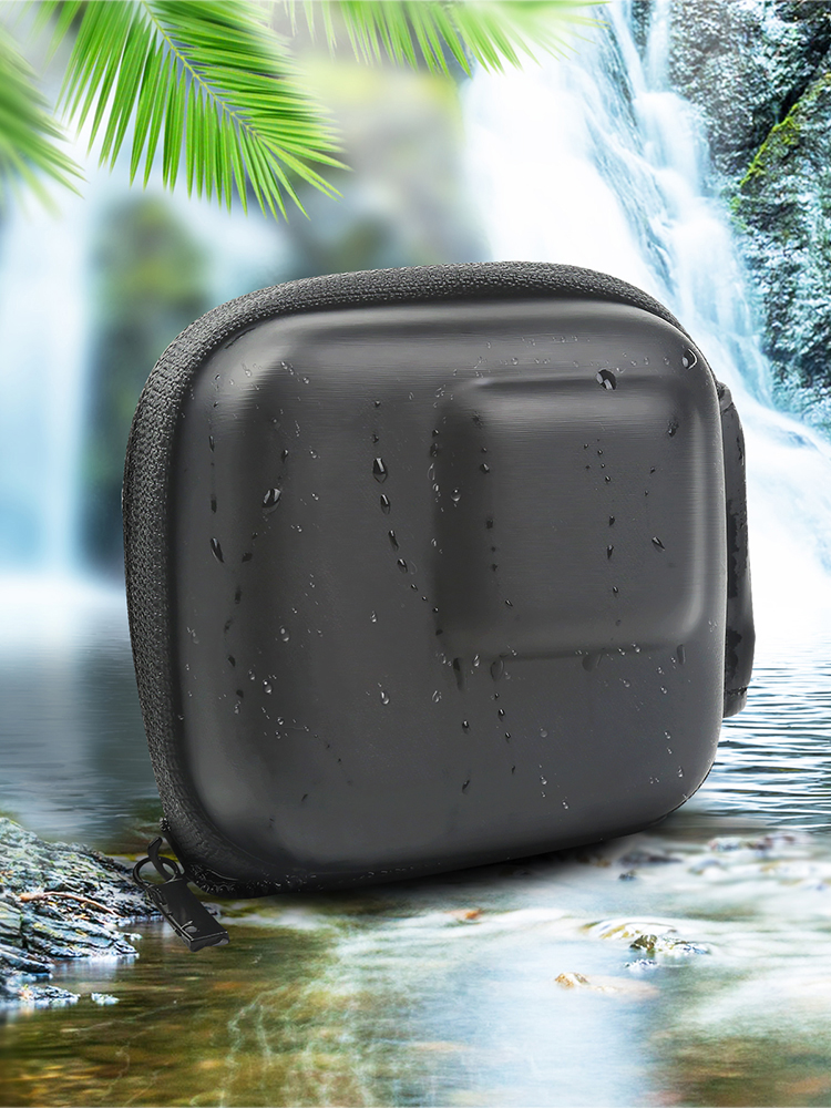 SHOOT for GoPro Hero 9 8 7 5 Black Mini EVA Protective Storage Case Bag Box Mount for Go Pro Hero 8 7 5 Black Silver Accessories