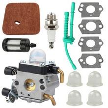 Carburetor Kit For STIHL FC55 FC75 FC85 FS310 FS38 FS45 FS45C FS45L FS46 FS55 FS55C FS55R FS55RC Air Filter Fuel Filter Set