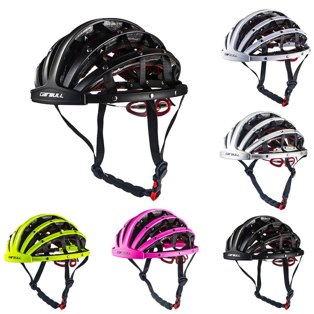 2019 Cairbull 5 Color Folding Ciclismo MTB Bike Ultralight Bicycle Helmet Bicycle Capacete De Bicicleta Bici Casque Equipment