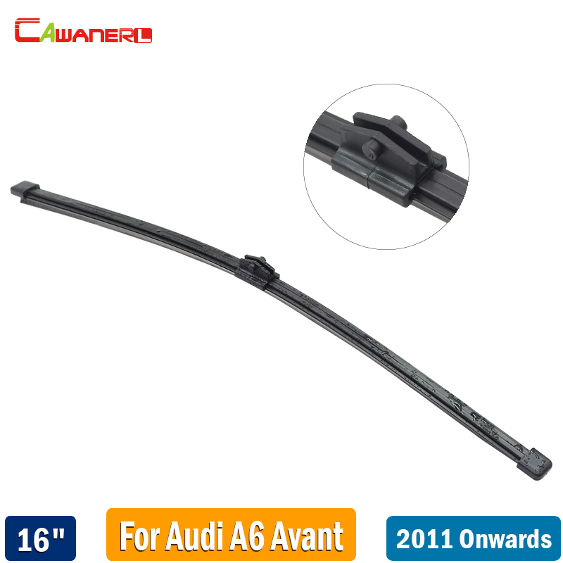 Cawanerl 16 Car Rubber Back Window Wiper Rear Windscreen Wiper Blade For 2011 2012 2013 2014 2015 2016 2017 Audi A6 Avant image