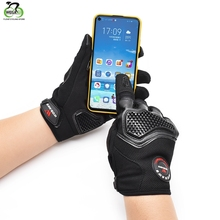 Cycling Gloves Touch Screen PU Leather Motorcycle Microfiber TPU Full Finger Protective Gear Motocross Racing Motorbike Gloves xueyu motorcycle gloves touch screen knight protective gear biker motorbike motocross gloves full finger guantes moto luvas