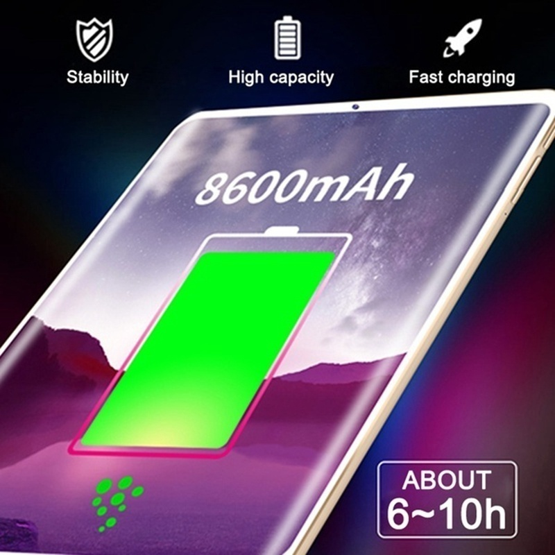 cheapest 2020 Tablet 10 1 Inch Ten Core 4G Network WiFi Tablet PC Android 7 1 Arge 2560 1600 IPS Screen Dual SIM Dual Camera Rear 13 0 MP