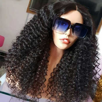 Sassoon Bob 13*4 Kinky Curly Lace Front Human Hair Wigs For Women Glueless Indian Remy Hair Wig Pre Plucked Bleached Knots