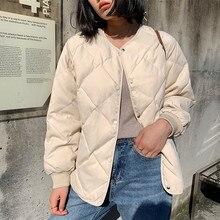 Alien Kitty – manteau épais et chaud pour femme, vêtement d'extérieur décontracté, résistant, Simple, frais, élégant, à la mode, collection hiver
