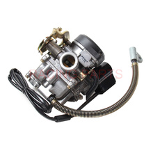 PD18J Carburetor 50CC Scooter Carburetor Moped Carb for 4-Stroke GY6 SUNL ROKETA JCL Vento For GY6 50CC-110CC Scooter motorcycle scooter carb carburetor 50cc chinese gy6 139qmb moped 49cc 60cc for sunl baja accessories