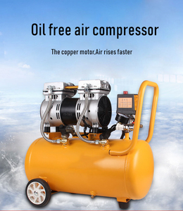 Image 3 - Air Compressor Oil Free Low Noise Silent Oil free Pump For Pneumatic Part Cylinders Filling Machine Free Shipping 1000w 30L Tank