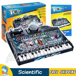 38 мульти эксперименты фортепиано лаборатория электрические наборы естественных исследований наборы физика головного мозга DIY модель стро...
