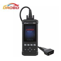Oryginalny uruchomienie DIY czytnik kodów CReader 7001 CR7001 standardowy skaner OBD2/skaner z serwisem resetowania oleju ENG/AT/ABS/SRS