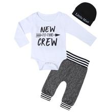 Bodysuit Costume Outfits Clothing-Set Print Toddler Newborn Infant Baby-Boys Summer Letter