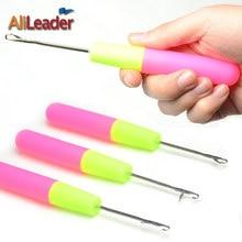 Alileader szydełko igły do włosów tkania igły do warkoczy druty i szydełka do Jumbo oplatania Twist włosów 1 sztuk/partia