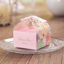 100pcs Elegant Style Romantic Wedding Candy Boxes Chocolate box Gift Bags Decoration Party Favor Gift Box Wedding supplies 100pcs 2017 five star european style hollow wedding candy box gift paper boxes chocolate carton wedding supplies
