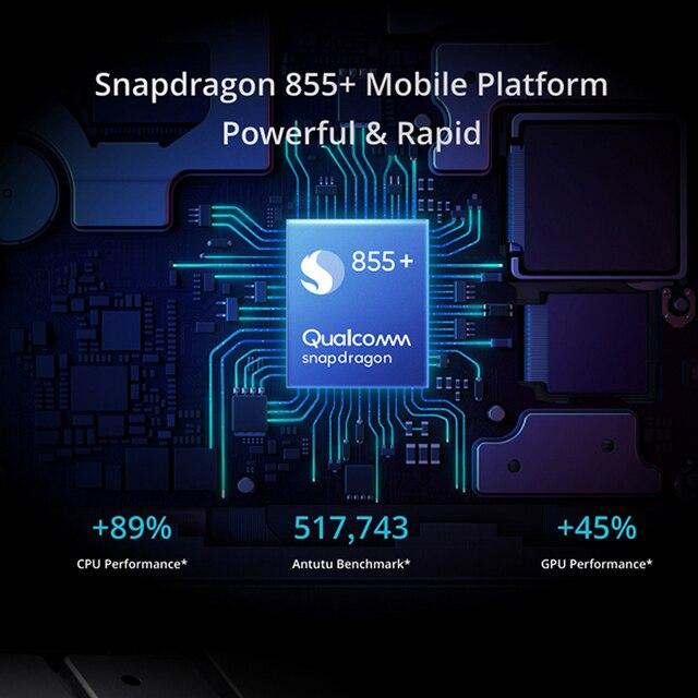 Realme X3  NFC Cellphone 8GB RAM 128GB ROM  6.6 '' Snapdragon 855+ 64MP Quad Rear 60X Super Zoom Camera 4200mAh Mobile Phone 5