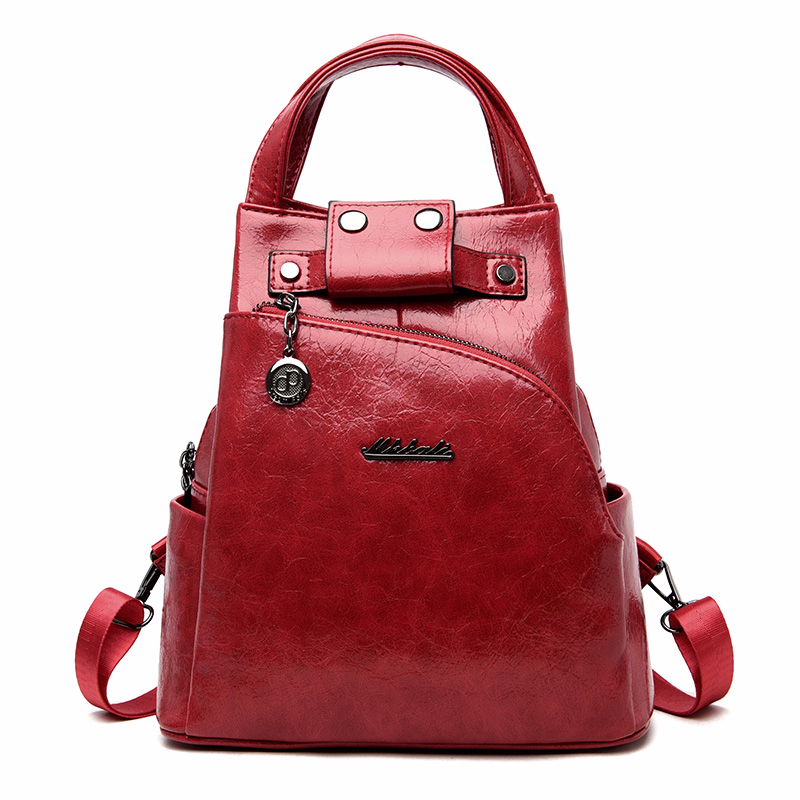 H94e8f043ec7145029db111bc1ee8fdd0Y - Women Leather Backpacks High Quality Sac A Dos Anti-theft Backpack For Girls Preppy School Bags For Girls Casual Daypack