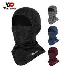WEST BIKING Winter Windproof Cycling Cap Warm Fleece Cycling Headwear Hats Scarf Men Women Outdoor Running Skiing Sport Caps