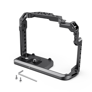 Image 2 - SmallRig DSLR gh5 Camera Cage For Panasonic gh5 / For Lumix gh5s With Cold Shoe Mount 1/4 3/8 Thread Holes and Nato Rail 2646