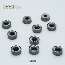 Oyu твердосплавные вставки из алюминия меди rcgt1204 неразъемные