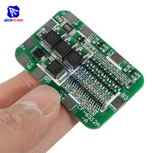 Image 3 - Diymore 6S 15A 24V Pcb Bms Bescherming Boord Voor 6 Pack 18650 Li Ion Lithium Batterij Mobiele Module
